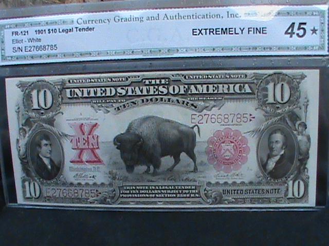 1901 Lewis and Clark Ten Dollar Bill