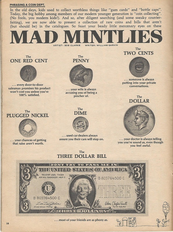 Troublesome Three Dollar Bill